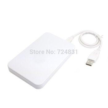Silver USB 2.0 SATA 2 5 HD Hard Disk Drive Enclosure