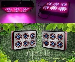 DHL 200W Apollo 6 (90*3W) Led Indoor Plants Grow Lights 630NM 460NM 610NM 7:1:1 OR 6:2:1,Original(China (Mainland))