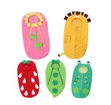 Gift Autumn/ winter style Design Infant sleeping bag baby stroller sleeping sack clothing holds clothes , Free shipping(China (Mainland))