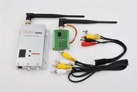 2014 hotsale FPV 1.2g/1.3g 400mw 8CH Wireless Audio&Video av transmitter and 12CH receiver,FPV tx rx vedio sender kit long range