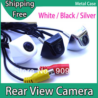 Car Rear View Backup Camera for Reversing  Metal Case with 170 Degree Wide Angle ,Good Night Vision , CCD Optional , 3 Colors