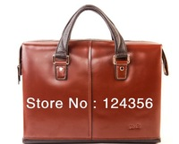 New Arrival Popular SEMES Genuine Leather Men Handbags Brands Free Shipping