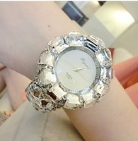 silver Wristwatches  for women with free ship