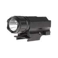 2013 New Design + 1PC P10 Gun Flashlight 300 Lumens CREE Q5 White LED Flashlight by 15270 battery Mini Torch + Free Shipping