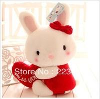 M'lele Hold the heart rabbit 3 design (26cm+36cm+42cm) 3piece=1set free shipping 3color