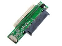 "2.5"" Inch 7+15P 22P Serial ATA SATA HDD SSD Hard Drive to 2.5""  44 PIN  IDE Compact Adapter Converter JM20330 Chip Free Shipping"