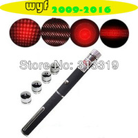 5 in 1  500mw Red light laser pointer pens, Red laser command pen with + free shipping