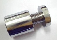 Free UPS Delivery Stainless Steel Advertising Spacer, Diameter 16*25mm, standoff pins, hollow & brush