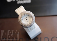 Authentic Handmade  Korean Style Rhinestone Quartz Jewellery Watch Luxury cheap diamond Watch