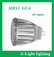 [ A-Light ]-81  LED MR11  4W,  10-30V DC,  120 degrees beam angle ,GU4 spotlight , Direct selling , retail