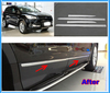 Stainless Steel Auto Body Trim Strips Door Side Moulding Trim for 2013 FORD ESCAPE KUGA Styling Mouldings Body Decorative(China (Mainland))