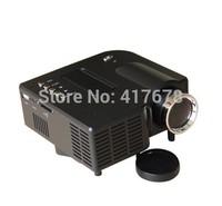 FAST drop shipping LED lamp Cheap UC28+ Mini Smart Portable Projector VGA HDMI SD USB AV HD video game proyector