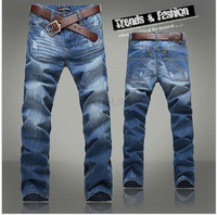 Free Shipping 2014 New Hot Fashion Designer Cotton Men Jeans MS007