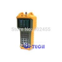 FreeShipping via DHL RY-S1130DQ catv Signal level meter 5-870MHz Support QAM256,  Full automatica scan, MER, BER, Tilt, V/A, C/N