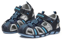 2013 Leather Sandals For Boys Causal Children Sandals Shoes Summer Soft Sole Beach Shoes Kids High Quality 4Colors