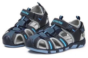 B 2014  Summer Fashion Design Boys Sandals Causal kids sandal Soft Sole Beach Children Sandals Kids Shoes High Quality 4Colors