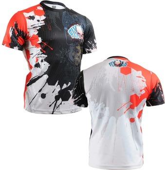 {No. RM-4402} FIXGEAR Tennis Golf T-Shirts Custom Design Printing Men's Sports Tee Crew Neck Short Casual T-shirts S~XXXL