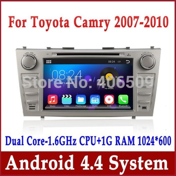 "Android 8"" In Dash Car DVD Player for Toyota Camry 2007-2011 with GPS Navigation Bluetooth Radio TV USB AUX Stereo Audio 3G WIFI"