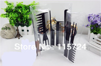 10piece/set   The comb   Flat brush  Comb