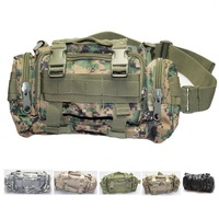 MULTI-MISSION Waist packs belt bags Messager bag outdoor Sports Camping cycling mountaineering Hiking pouch