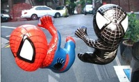 Free Shipping car ornament   furnishing articles spider-man doll accessories creative interior suction-cup Q version car pendant