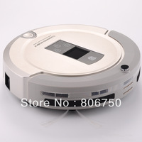 (Free Shipping For All Country)2013 Newest and best  4 in 1 Multifunction Robot Vacuum Cleaner with New technology Shining Logo