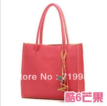 2013Hot sale women's PU leather shoulder bags new designer brand handbags(China (Mainland))