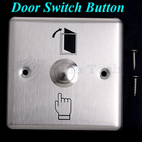 Stainless steel Door Release Button exit switch use for access control system  with NC/COM interface output