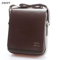 Free shipping!2013 Fashion PU leather casual men shoulder bag,Kangaroo men's business handbags briefcase