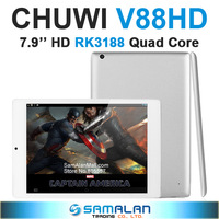 "7.9"" CHUWI V88 RK3188 Quad Core Mini Pad IPS Screen 2GB RAM 16GB ROM Android 4.1 Dual Camera Tablet PC"