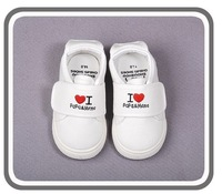 Retail 2013 new boys girls casual shoes kids sport shoes love papa mama sneaker fit 1-4yrs  free shipping 3007