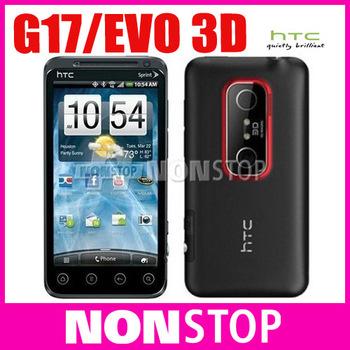 G17 Unlocked Original HTC EVO 3D X515m Android 2.3 GPS WIFI 5MP 4.3''TouchScreen Unlocked Cell Phone