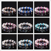Wholesale Elastic Shamballa Bracelet Jewelry, Gradient CZ Crystal Disco Ball, Cheap Sale Jewelry,Many Colorsx10pcs Free Shipping