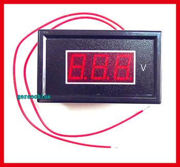 """0.56"""" Digital Red LED Voltage Meter Digital Voltmeter Panel Display AC60V  to 500V"""