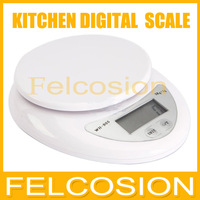 New Cheap 5000g/1g 5kg Food Diet Postal Kitchen Digital Scale scales balance weight weighting wh-b05 Drop shipping