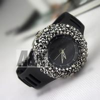 2013 Cheap Luxury Metor Shower Rhinestone Analog watch Diamonte New Style Fashio Women Watch