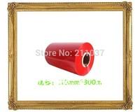 Ribbon  red 110*300 Color ribbon printer barcode