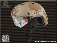 NEW Emerson FAST Helmet with Protective Goggle Pararescue Jump Type helmet Military airsoft helmet Dark earth 8819