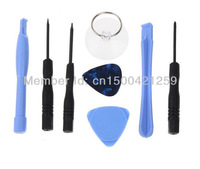 New 10sets/lot  8 x Repair Pry Opening Fix Tool for iphone  Screwdriver  Suction Vacuum Opener Plastic Prying Tools-Blue