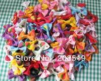 FZ0012 Charm Printed Grosgrain Ribbon Bowtie 35mm*25mm 300pcs Mixed children clothes accessory