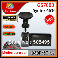 "Full HD 1920*1080P GS7000 Car DVR Recorder With 2.7"" TFT LCD 140 Degree Wide Angle G-Sensor H.264 HDMI Car Black Box"