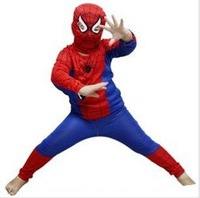 Wholesale manufacturers spider man costume spiderman suit spider-man costume children spider men ,FREE SHIPPING  XW002