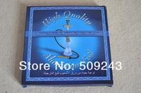 New 100pcs/box  Round Aluminum Foil Paper For Shisha Thickness 0.015mm Hookah Sheesha Foil Hooka Foil Papers