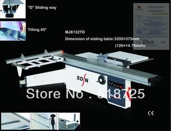 MJ6132TD woodwork equipment saw machine cutting mdf board precise horizontal sliding table saw furniture machine panel saw price