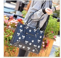 Free shipping 2013 Hot Sale Fashion Women Bags Handbag Lady Pu handbag Leather Shoulder Bag  Elegant candy color bags H2241