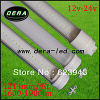 SMD led tube light/12V led tube lighting/4ft T8 Led tube lamp high lumen/ 1200mm 20W led tube /FREE SHIPPING for UPS