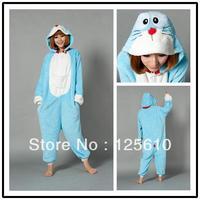 Ladies pyjamas pokonyan coral velvet household sleepwear Girls Chinese Pajama Sets unisex pyjamas by0021 doraemon Christmas pjs