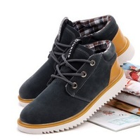 2013 New British Style Waterproof Non-Slip Leather Casual Mens Shoes free shipping LS035