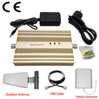 Retail Sale 1500sqm Coverage GSM  Signal Booster GSM900mhz Cell Phone Amplifier Full Kits