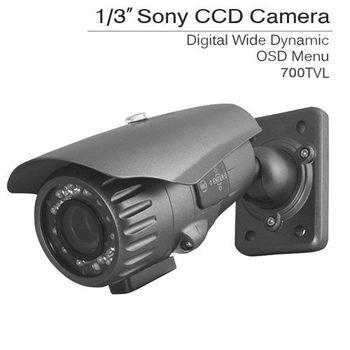 700TVL Professional CCTV Weatherproof bullet Outdoor Indoor IR Colour Security Camera OSD Menu